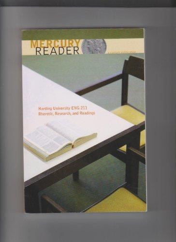 Mercury Reader (Custom Publication for Harding University: n/a