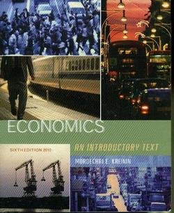 9780558288457: Economics 2010: An Introductory Text