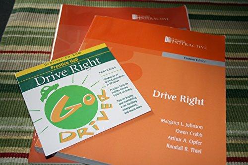 9780558299262: Pearson Drive Right Lincoln Interactive Custom Edition
