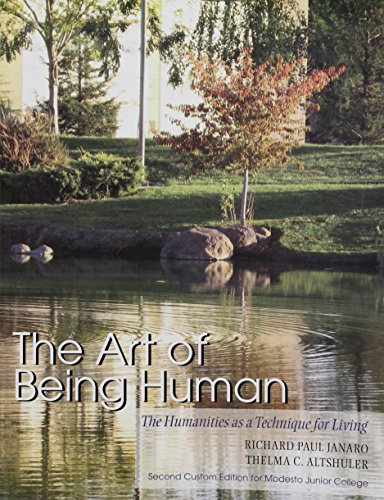 9780558305819: The Art of Being Human (second custom edition for modesto junior college)