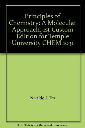 Nivaldo Tro Chemistry Molecular Approach Abebooks