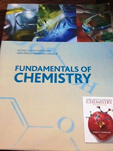 9780558306496: Fundamentals of Chemistry (San Diego Miramar College)