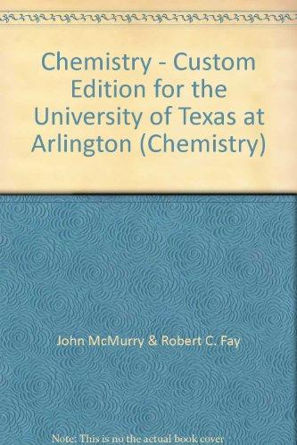 9780558312527: Chemistry - Custom Edition for the University of Texas at Arlington (Chemistry)