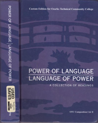 9780558320799: Power of Language; Language of Power: A Collection of Readings (Custom Edition for Ozarks Technical Community College)