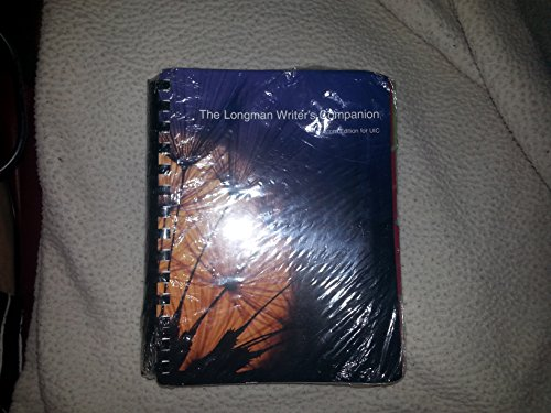 9780558322960: The Longman's Writer's Companion(custom Edition for Uic) (longman writer's companion)