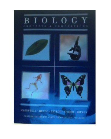 9780558324735: Biology: Concepts and Connections, custom edition for Miami Dade College-Wolfson