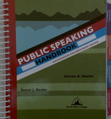9780558330835: Public Speaking Handbook (Custom Editon for North Idaho College)