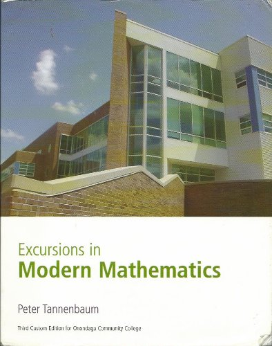 EXCURSIONS IN MODERN MATH.>CUSTOM<
