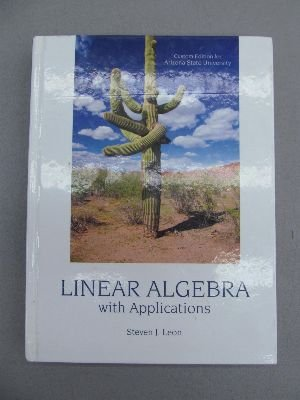 9780558340728: Linear Algebra with Applications