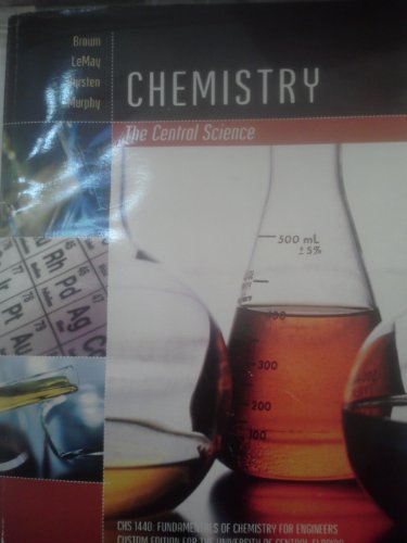 9780558347789: Chemistry the Central Science (CHS 1440: FUNDAMENTALS OF CHEMISTRY FOR ENGINEERS/ CUSTOM EDITION FOR THE UNIVERSITY OF CENTRAL FLORIDA)