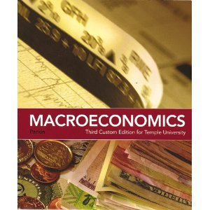 9780558348045: Macroeconomics (Third Custom Edition for Temple University)