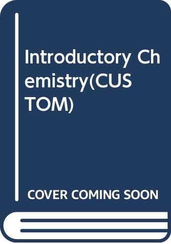 9780558349158: Introductory Chemistry(CUSTOM)