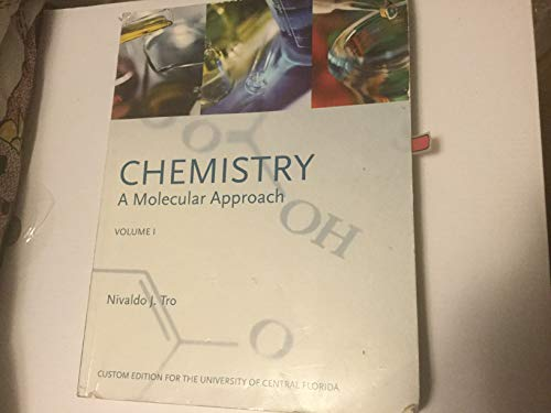 9780558354138: CHEMISTRY A Molecular Approach Volume 1 (Custom Edition For The University Of Central Florida)