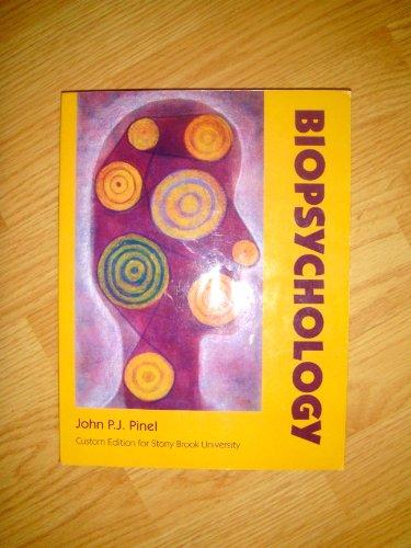 9780558354930: Biopsychology (Custom Edition for Stony Brook University Taken From 7th Edition)