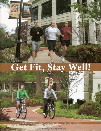 9780558357344: Get Fit, Stay Well (Harding Custom Edition)