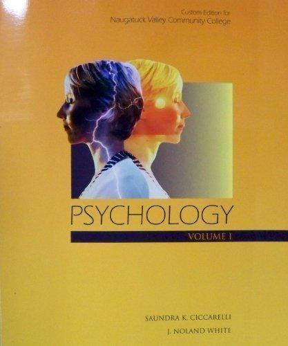 Psychology Volume 1: Saundra K. Ciccarelli,