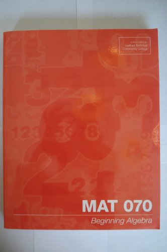 MAT 070 (Guilford Technical Community College): Elayn Martin-Gay