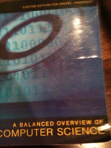 9780558386412: A Balanced Overview of Computer Science