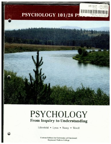 Psychology: From Inquiry to Understanding, Psychology 101/28: Lynn, Namy, Woolf,