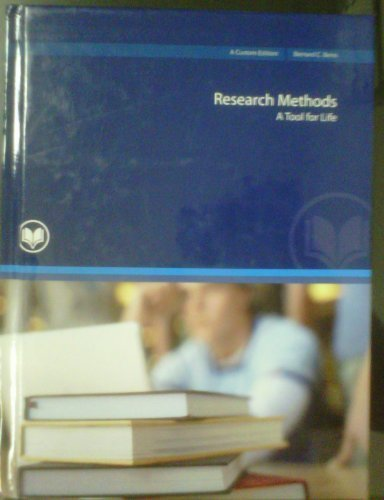 9780558394059: Research Methods: A Tool for Life