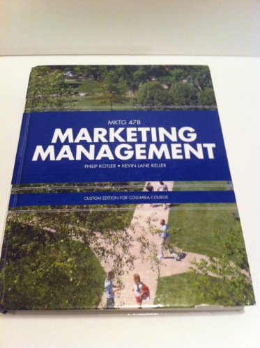 Kotler Philip Keller Kevin Lane Marketing Management Abebooks