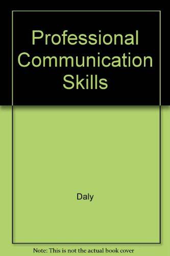 9780558419547: Professional Communication Skills