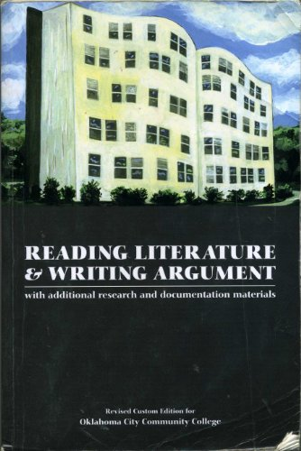 Reading Literature and Writing Argument with Additional: Missy James, Alan
