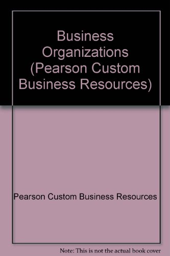 Pearson custom business resources abebooks fandeluxe Images