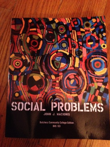 9780558468927: Social Problems (Dutchess Community College Edition, BHS 103)