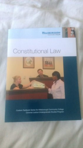 9780558472153: Constitutional Law (HCC EDITION)