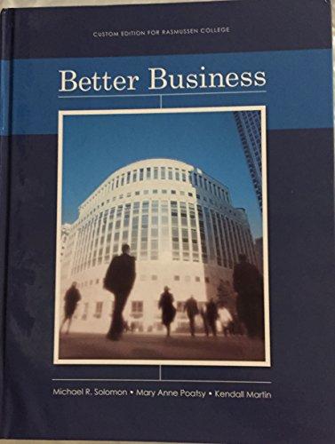 9780558495718: Better Business Edition: Reprint