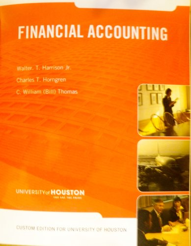 9780558496487: Financial Accounting Custom Edition for the Univer