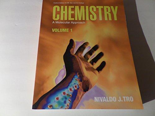 9780558507817: Chemistry a Molecular Approach Vol. 1 (Custom Edition for Mt. San Jacinto College)