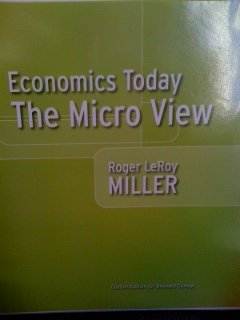 9780558508340: Economics Today: The Micro View (Custom Edition for Broward College)