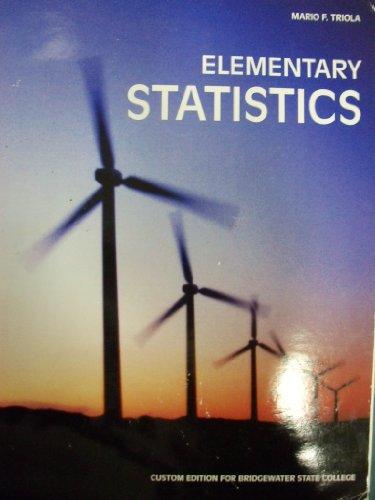 9780558517328: Elementary Statistics [11 E] (Bridgewater State College)