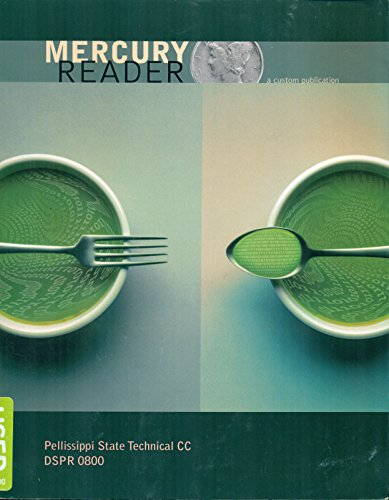 9780558532109: Mercury Reader (Custom Edition for Pellissippi State Technical CC)
