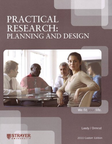 Practical Research: Planning and Design: Paul D. Leedy,