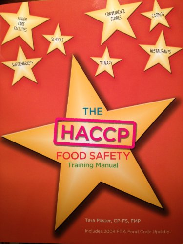 9780558586096: HACCP Food Safety Training Manual
