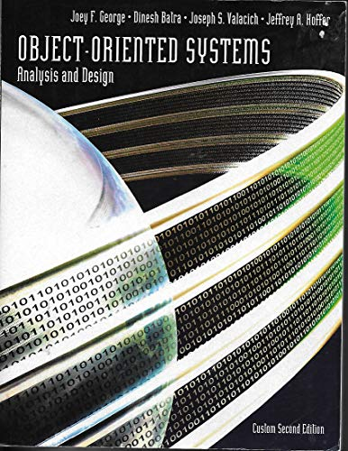9780558587291: Object-oriented Systems Analysis and Design