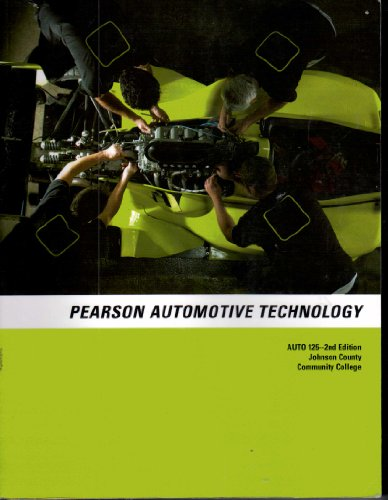9780558598402: Pearson Automotive Technology (For the class