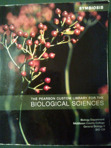 9780558622473: Symbiosis (The Person Custom Library for the Biological Sciences) for BIO-124 class