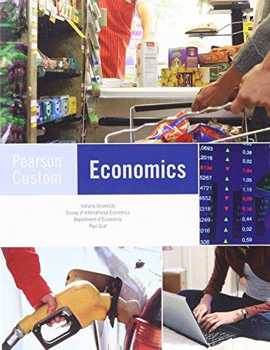 9780558622572: Pearson Custom Economics Intermediate Micro Theory 203