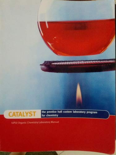 9780558631055: Catalyst Organic Chem Lab Manual