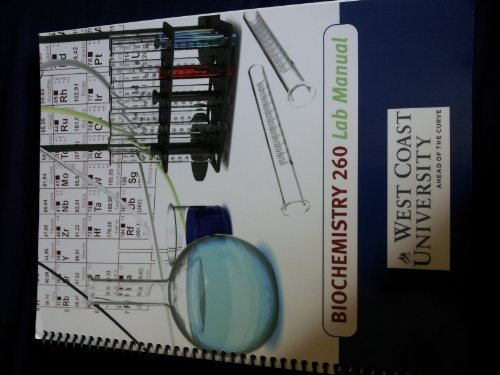9780558631604: Bio Chemistry 260 Lab Manual (Bio Chemistry 260 Lab Manual)