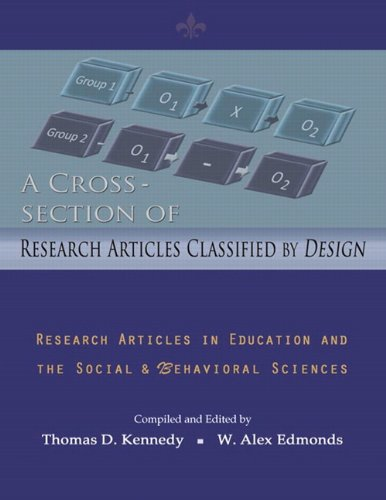 A Cross Section of Research Articles Classified: W. Alex Edmonds,