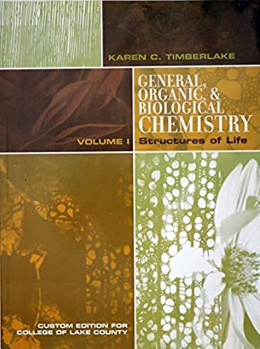 9780558649234: General, Organic, & Biological CHEMISTRY
