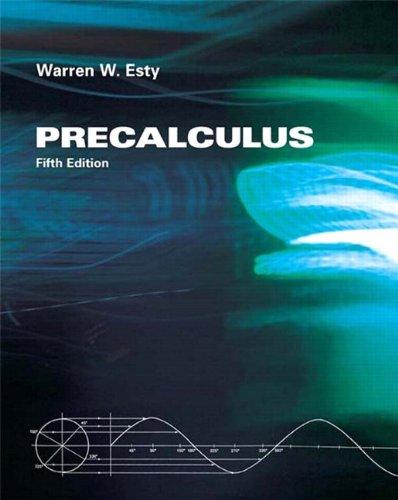 9780558652319: Precalculus (5th Edition)