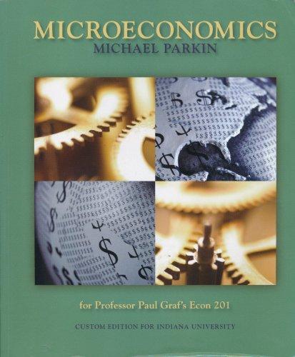 9780558655525: Microeconomics, ECON 201, Indiana University