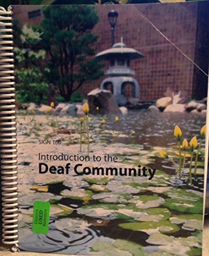 9780558655846: Introduction to the Deaf Community