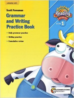 9780558675356: Connections Academy: Reading Street Grade 1 - Grammar and Writing Practice Book
